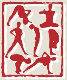 Lu Jong Logo Copyright Suny Roth, Bewegungen tibetisches Heilyoga